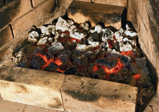 Уголь для люля-кебаб